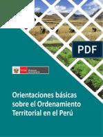 Orientaciones Básicas para Ordenamiento Territorial