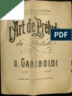 Gariboldi L Art de Pr Luder Op. 149