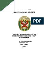 Manual de La Dirincri-2008 05feb2010