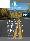 Colorado Taxpayer's Bill of Rights by the Independence Institute