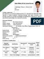 My New CV