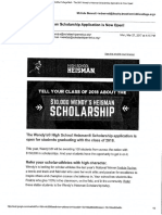 wendy heisman scholarship
