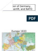 division of germany airlift nato lecture