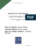 Derecho Civil I Parte General Resumen