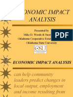 2003 Econimpacts Woods Analysis