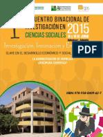 Ponencia La Administración de Empresas Disciplina Científica 2012