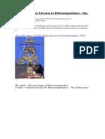 Livro - O Ankh – Origem Africana Do Eletromagnetismo