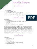 100 Lavender Recipes