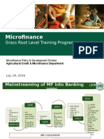 Agriculture Credit & Microfinance Department
