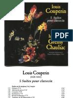 Louis Couperin_ Suites Pour Clavecin