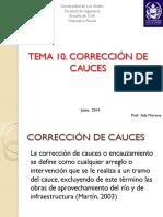 CLASE CORRECCIÓN DE CAUCES
