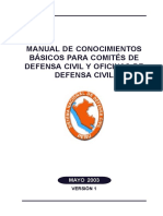 Manual de Defensa Civil 110 Pag