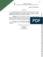 ACORDÃO - COZINHEIRO