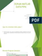 Simulasi Data Pipa