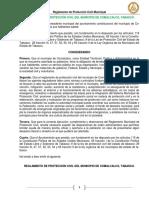 Reglamento de Proteccion Civil 2016 Comacalco