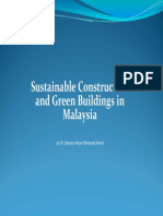 Sustainable Constrution and Green Building