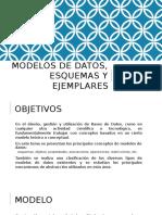 Modelos de Datos Esquemas y Ejemplares