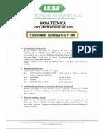 Ht Thinner Acrilico p 55