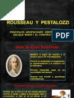 Rousseau y Pestalozzi Aportaciones Pedagógicas (2)