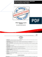 Plan de Desarrollo Para Norte de Santander 2016-2019