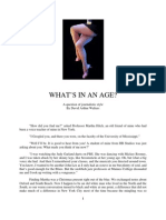 Whats in an Age - A Question of Style by David Arthur Walters