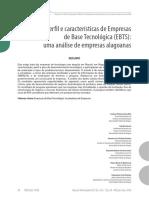 Perfil e Caracteristicas de Empresas
