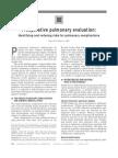 Preoperative Pulmonary Eval Ident n Reduc Risksl