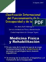 Clasificación Internacional Del Funcionamiento de La Discapacidad . Dra.nobrega