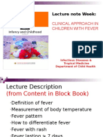 1. Clinical Approach in Children With Fever