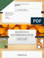 Huevos y Ovoproductos