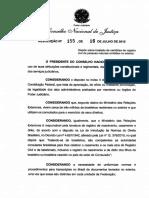 Resolução nº 155 16-07-2012