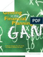 Getting in the Financial Planning Game