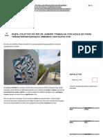MUDA_ Coletivo Do Rio de Janeiro Trabalha Com Azulejos Para Transformar Espaços Urbanos Com Muita Cor - Follow the Colours