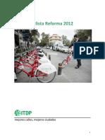 ReporteConteoCiclistaReforma20122