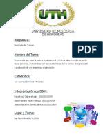 Ensayo de Cultura Organizacional y Clima Laboral