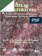 Atlas of Alteration Guia de Mineralogía Al Microsopio