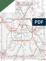 S Und U-Bahnnetz Mit Regionalbahn Berlin ABC