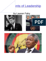 lauren fahy leadership project