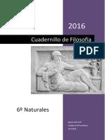 Cuadernillo de Filosofía (Versión 2016)
