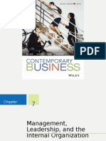 Contemporary Business Chapter 7