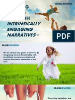 Building Brands Through Intrinsically Engaging Narratives