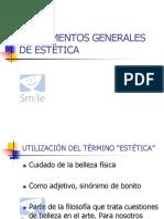 1. FUNDAMENTOS GENERALES DE ESTÉTICA