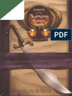 Legend of the Burning Sands