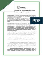 CONARQ - Carta para a Preservação do Patrimônio Arquivístico Digital, Rio de Janeiro 2004.pdf