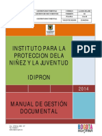 Manual Gestion Documental Bogota