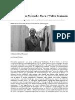 Foucault Entre Nietzsche, Marx e Benjamin - Ernani Chaves