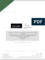 Implementación y Evaluación de Un Modelo de Intervencion Grupal