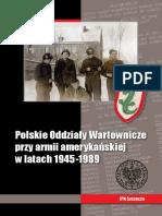 Polskie Oddziały Wartownicze Przy Armii Amerykańskiej w Latach 1945–1989