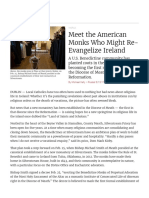 Meet the American Monks Who Might Re-Evangelize Ireland
