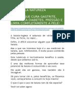 CURA PELA NATUREZA - Suco Contra a Gastrite